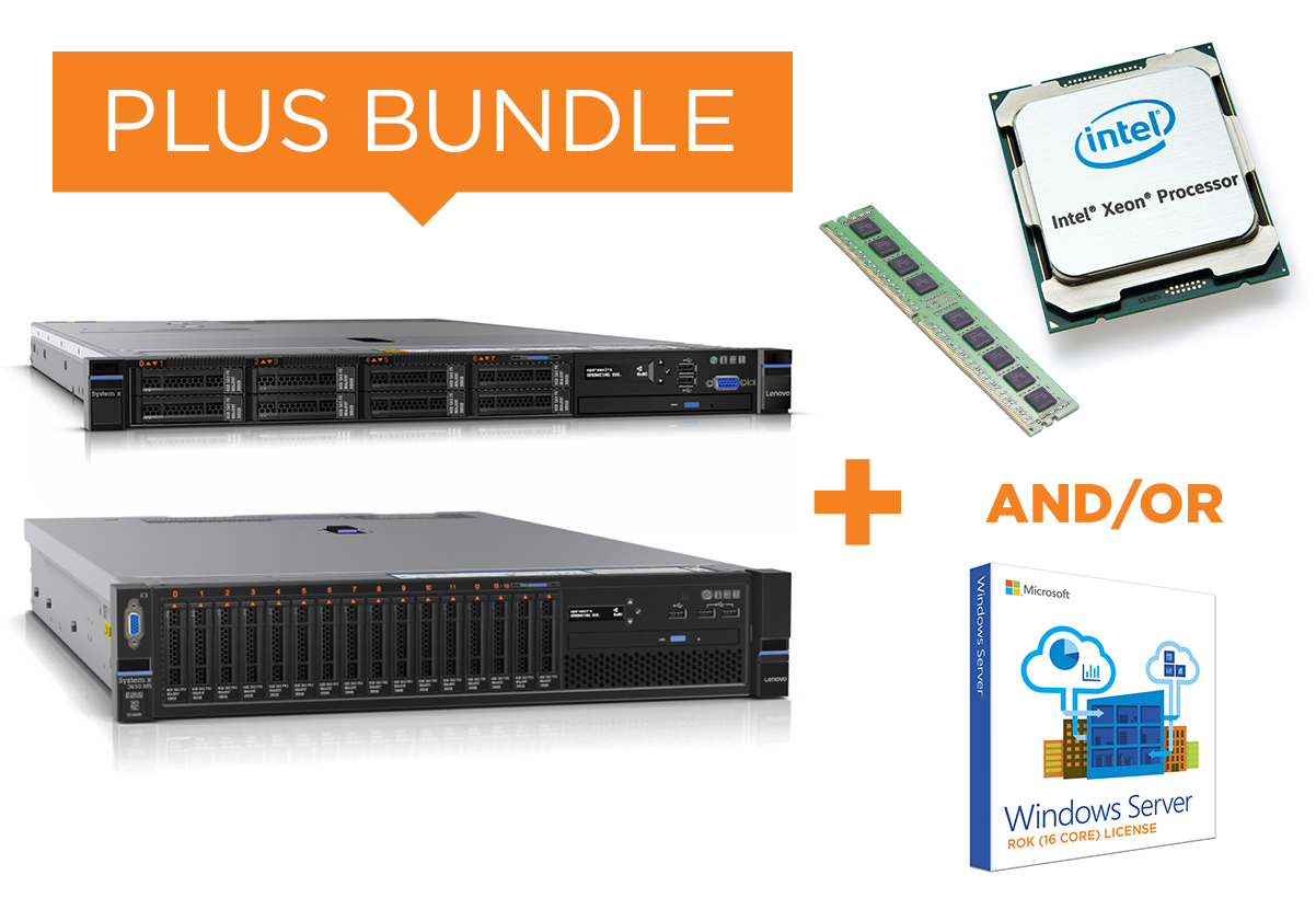 3. Lenovo x86 - PLUS BUNDLE Hardware and Software Upgrade