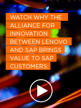 Lenovo & SAP HANA: Built different to perform better
